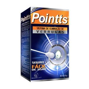 Sistema de eliminação de verrugas - Pointts